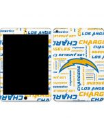 Los Angeles Chargers White Blast Apple iPad Air Skin