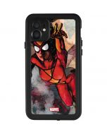Spider-Woman In Action iPhone 11 Waterproof Case