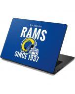 Los Angeles Rams Helmet Dell Chromebook Skin