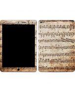 Antique Notes Apple iPad Air Skin