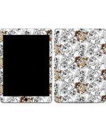 Tasmanian Devil Super Sized Pattern Apple iPad Air Skin