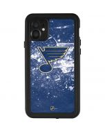 St. Louis Blues Frozen iPhone 11 Waterproof Case