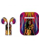 Wonder Woman Color Blast Apple AirPods Skin