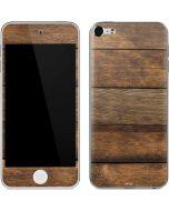 Early American Wood Planks Apple iPod Skin