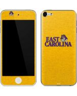 East Carolina Yellow Apple iPod Skin