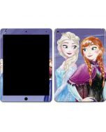 Elsa and Anna Sisters Apple iPad Air Skin