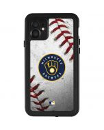 Milwaukee Brewers Game Ball iPhone 11 Waterproof Case