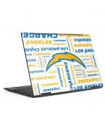 Los Angeles Chargers White Blast HP Envy Skin