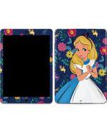 Alice in Wonderland Floral Print Apple iPad Air Skin