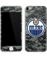 Edmonton Oilers Camo Apple iPod Skin