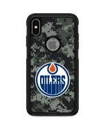 Edmonton Oilers Camo Otterbox Commuter iPhone Skin