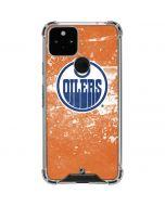 Edmonton Oilers Frozen Google Pixel 5 Clear Case