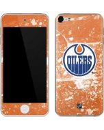 Edmonton Oilers Frozen Apple iPod Skin