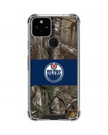 Edmonton Oilers Realtree Xtra Camo Google Pixel 5 Clear Case
