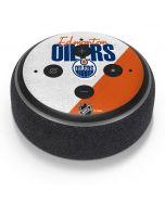 Edmonton Oilers Script Amazon Echo Dot Skin