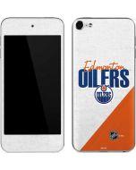 Edmonton Oilers Script Apple iPod Skin