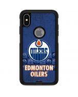 Edmonton Oilers Vintage Otterbox Commuter iPhone Skin
