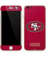San Francisco 49ers Distressed iPhone 6/6s Skin