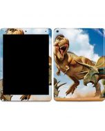 Tyrannosaurus Rex Fighting with Two Triceratops Apple iPad Air Skin