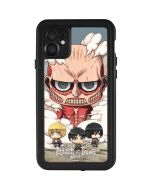 Attack On Titan Clouds iPhone 11 Waterproof Case