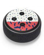 Polka Dot Split Amazon Echo Dot Skin