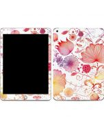 Elegant Flowers Apple iPad Skin