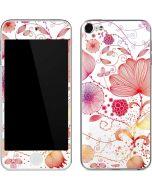Elegant Flowers Apple iPod Skin