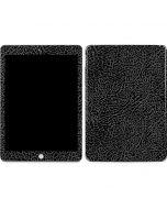 Elephant Print Black Apple iPad Skin