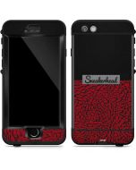 Elephant Print Red Sneakerhead LifeProof Nuud iPhone Skin