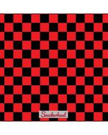 Sneakerhead Red Checkered Apple iPad Skin