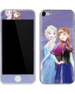 Elsa and Anna Sisters Apple iPod Skin