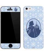 Elsa Silhouette iPhone 5c Skin