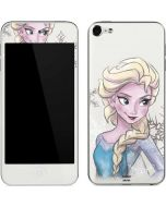 Elsa Snowflakes Apple iPod Skin