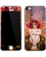 Ember Fire Fairy Apple iPod Skin