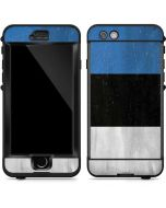 Estonia Flag Distressed LifeProof Nuud iPhone Skin