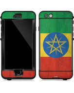 Ethiopia Flag Distressed LifeProof Nuud iPhone Skin