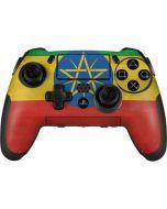 Ethiopia Flag Distressed PlayStation Scuf Vantage 2 Controller Skin