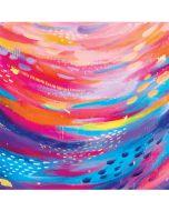 Rainbow Wave Brush Stroke LifeProof Nuud iPhone Skin
