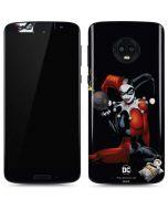 Evil Harley Quinn Moto G6 Skin