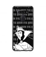 Evil Queen Black and White LG K51/Q51 Clear Case