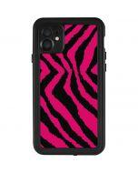 Retro Zebra iPhone 11 Waterproof Case