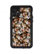 Taz Super Sized Pattern iPhone 11 Waterproof Case
