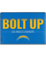 Los Angeles Chargers Team Motto Galaxy Book Keyboard Folio 12in Skin