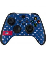 Texas Rangers Full Count Xbox Series X Controller Skin