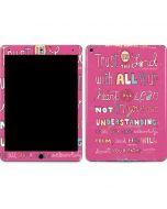 Trust in the Lord Pink Apple iPad Air Skin