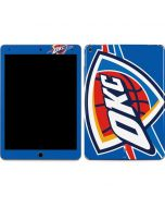 Oklahoma City Thunder Large Logo Apple iPad Air Skin