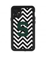 Michigan State University Spartans S Chevron iPhone 11 Waterproof Case