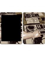 DJ Spinning Apple iPad Air Skin