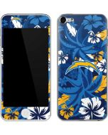 Los Angeles Chargers Tropical Print Apple iPod Skin