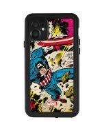 Captain America Rooftop Explosion iPhone 11 Waterproof Case